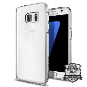 SPIGEN ULTRA HYBRID GALAXY S7 CRYSTAL CLEAR-686626