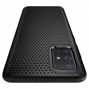 SPIGEN LIQUID AIR GALAXY A51 MATTE BLACK-773060