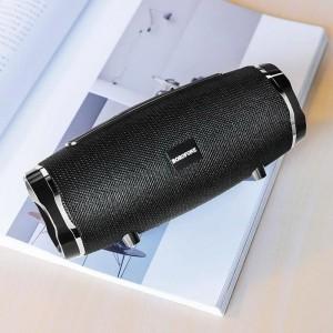 Borofone - głośnik bezprzewodowy sportowy Bluetooth V5.0, czarny-891656