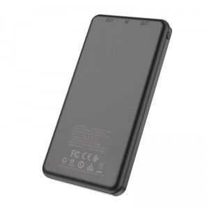 Borofone - power bank 10 000 mAh 37 Wh, czarny-891700