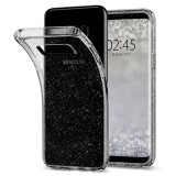 SPIGEN Liquid Crystal Glitter do Samsung Galaxy S8 PLUS (lekko dymiony, brokat)