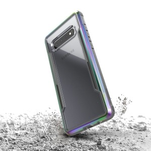 X-Doria Defense Shield - Etui aluminiowe Samsung Galaxy S10  (Drop test 3m) (Iridescent)-759059