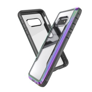 X-Doria Defense Shield - Etui aluminiowe Samsung Galaxy S10  (Drop test 3m) (Iridescent)-759060