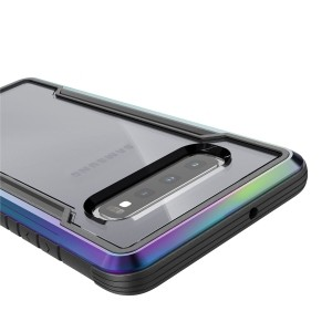 X-Doria Defense Shield - Etui aluminiowe Samsung Galaxy S10  (Drop test 3m) (Iridescent)-759061